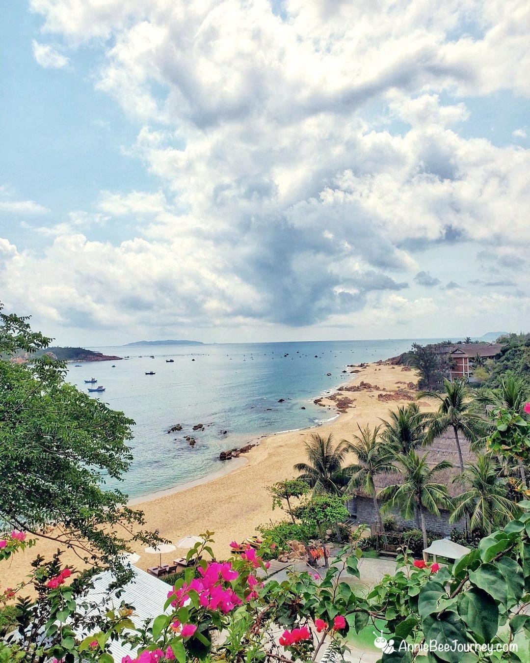 Beach at Casa Marina resort Quy Nhon, Vietnam