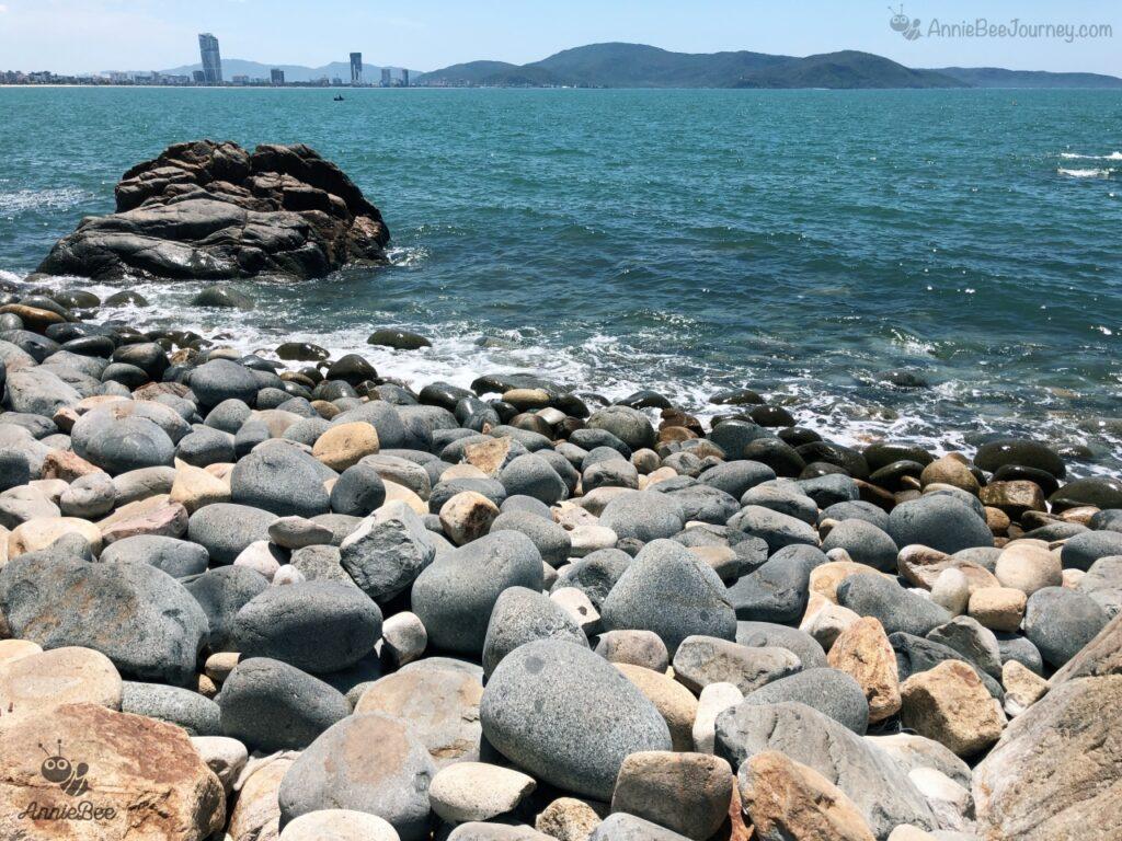 Egg Stone beach (Hoang Hau beach) in Quy Nhon, Vietnam