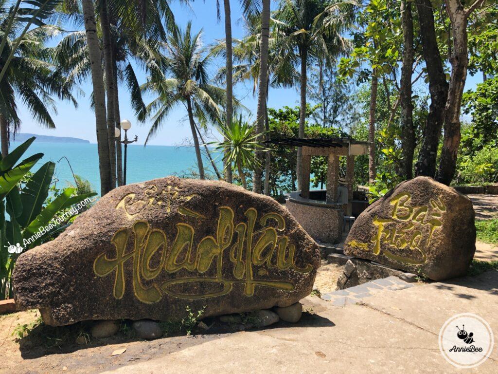 Hoang Hau beach or Egg Beach in Ghenh Rang, Quy Nhon, Vietnam