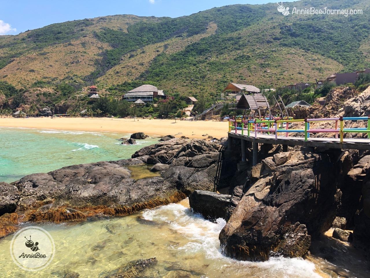 Ky Co island in Quy Nhon, Vietnam