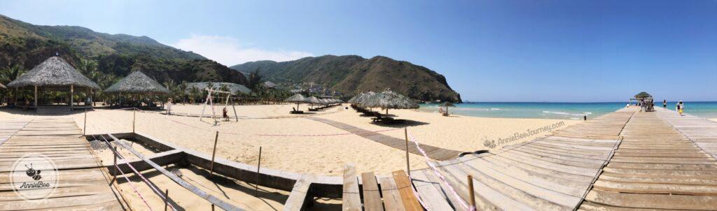 Beach at Ky Co island in Quy Nhon, Vietnam