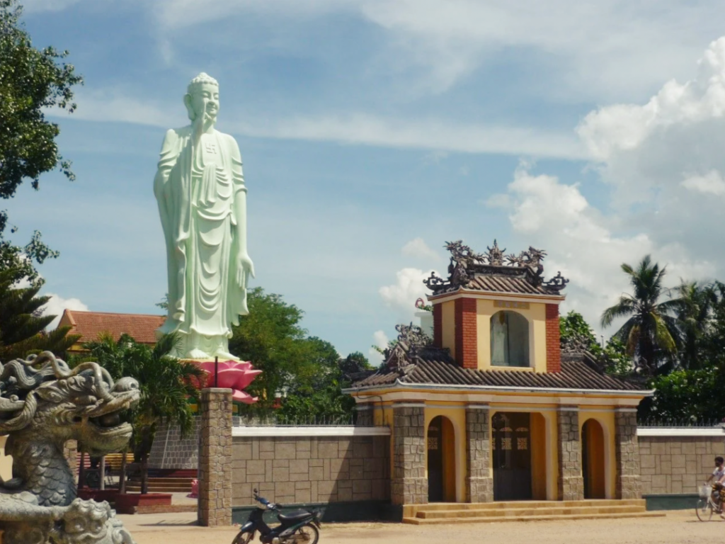 Long Khanh pagoda in Quy Nhon, Vietnam