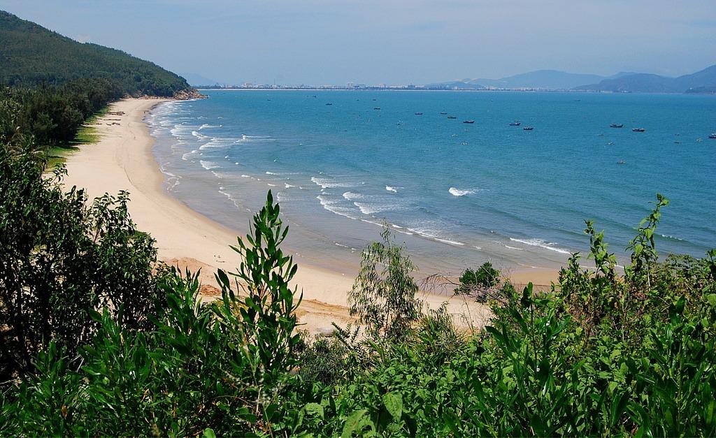 Quy Hoa beach in Quy Nhon, Vietnam