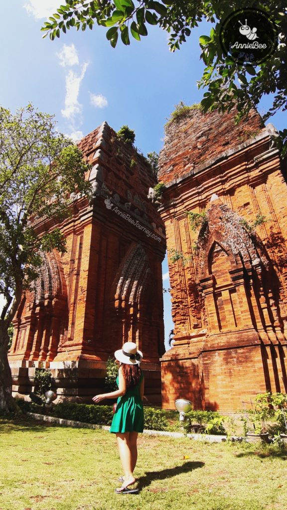 Twin Towers Thap Doi in Quy Nhon, Vietnam