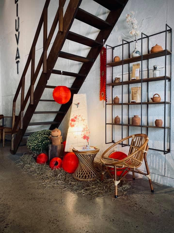 Interior design of Adiuvat Coffee Roasters in Quy Nhon, Vietnam
