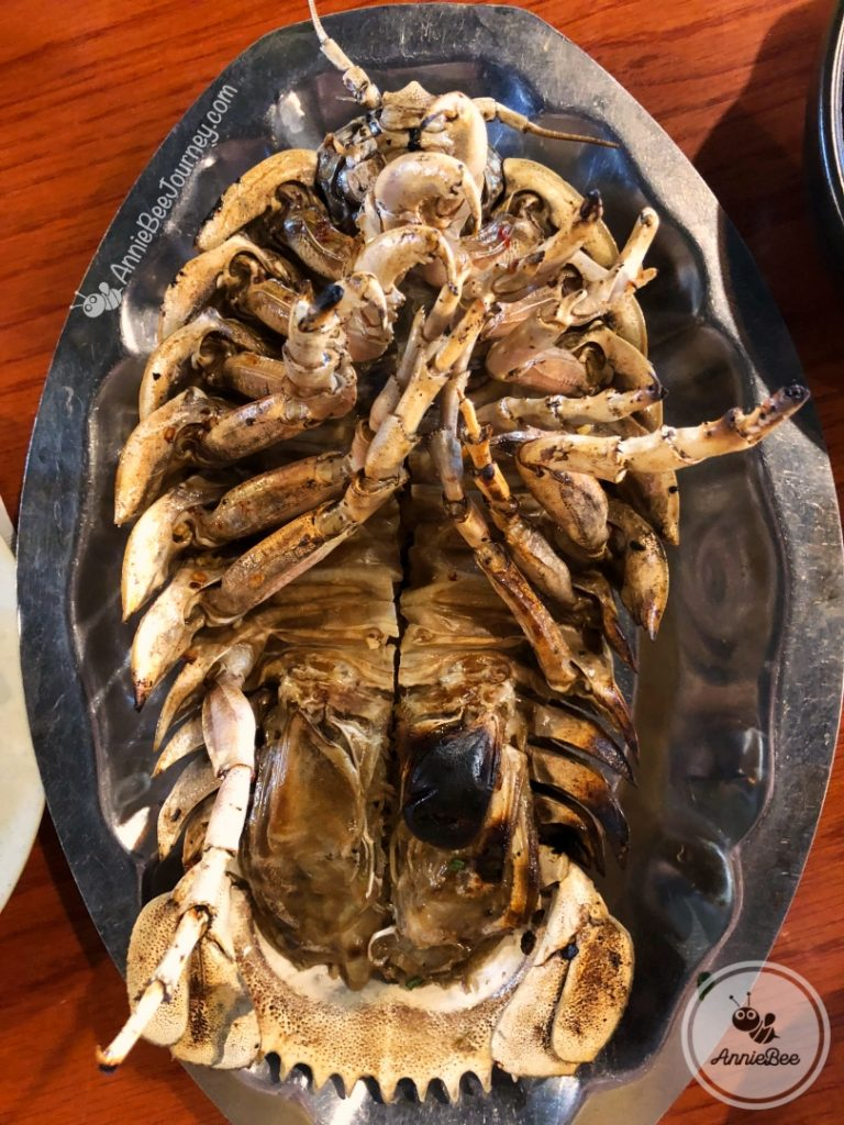 Grilled Giant Isopod in Quy Nhon, Vietnam