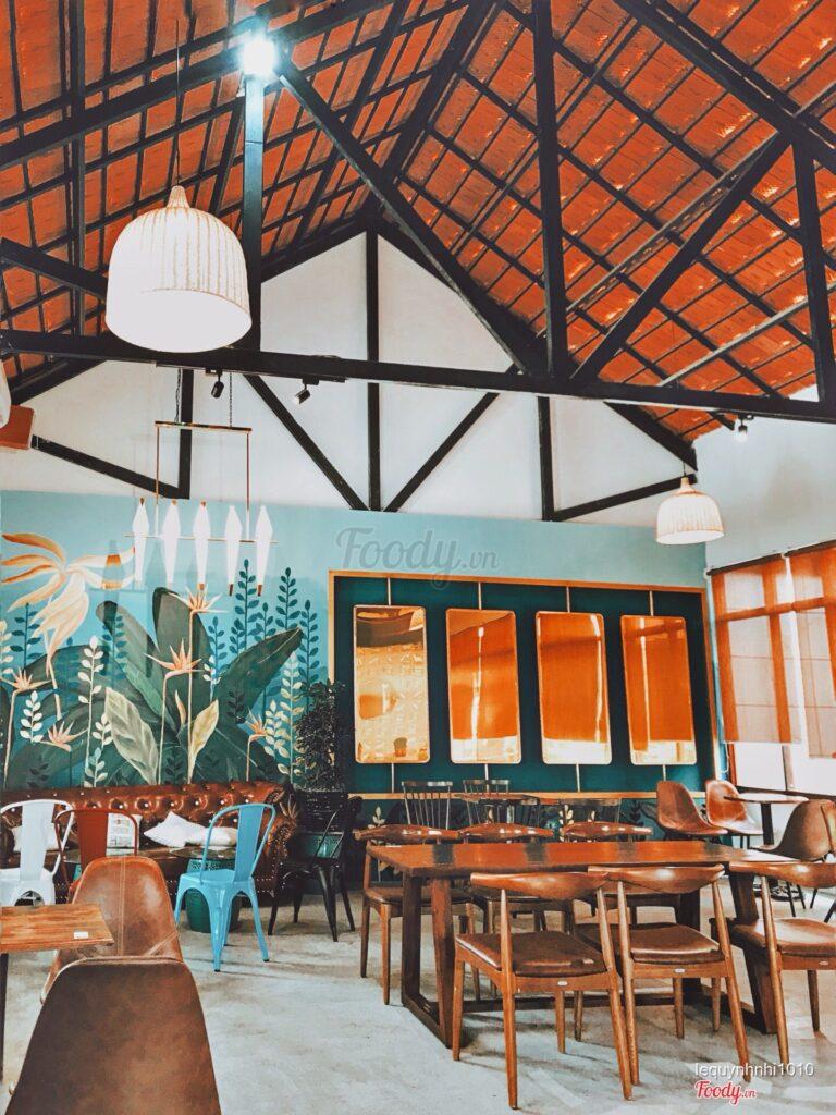 Interior design of Marina Garden Coffee shop in Quy Nhon, Vietnam