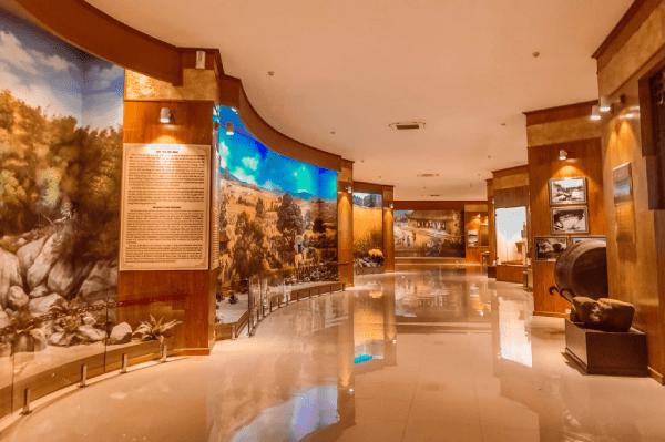 Inside Quang Trung museum in Quy Nhon, Vietnam